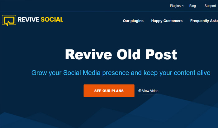 Revive Old Post WordPress Plugin