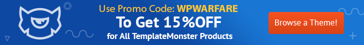 15% OFF on TemplateMonster