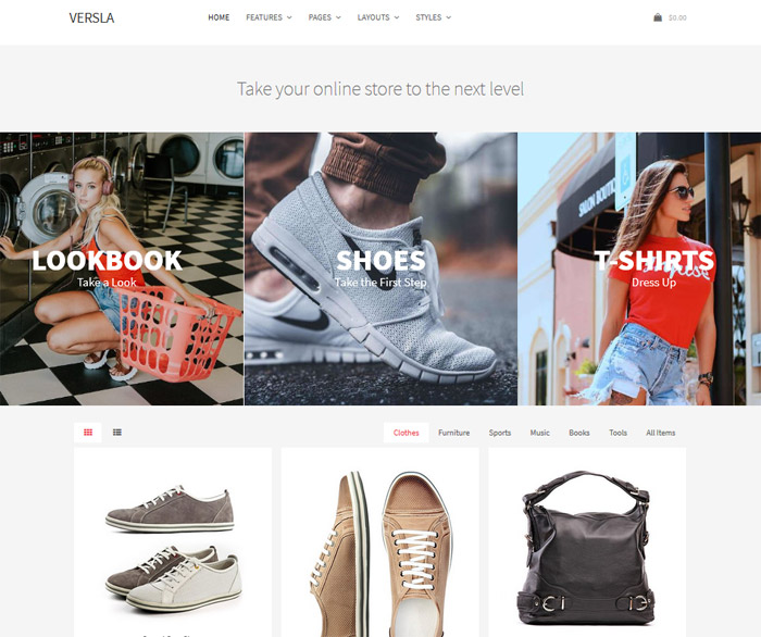 Versla WordPress Theme