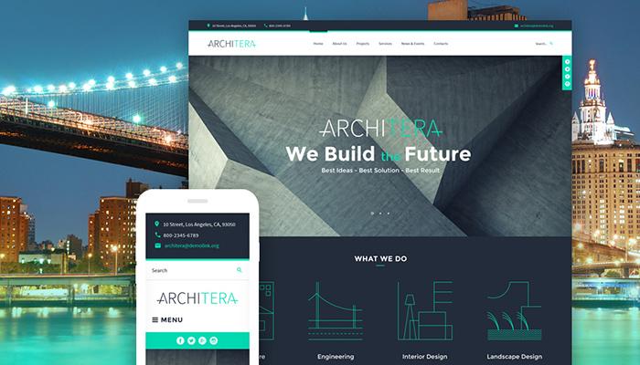 Architera - Architecture Bureau WordPress Template
