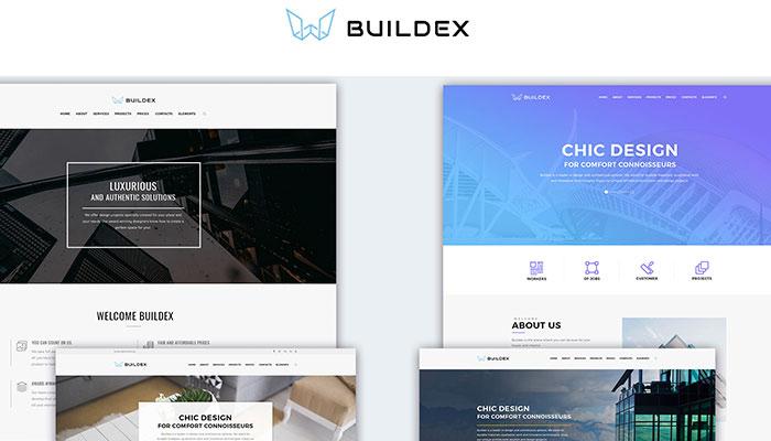 Buildex - Multipage Architecture Theme
