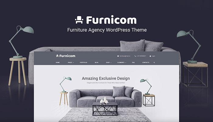 Furnicorn - Interior Design WordPress Theme