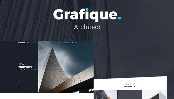 Grafique - Architecture WordPress Theme