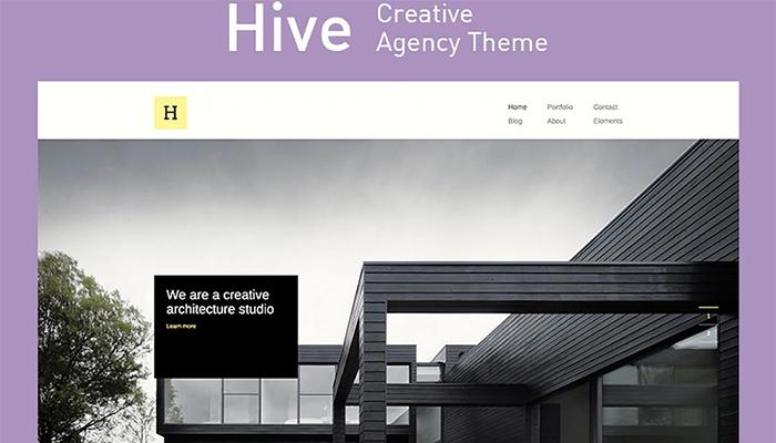 Hive - Creative Architecture WordPress Design