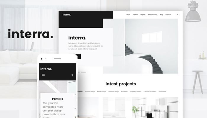 Interra - Interior Design WordPress Theme