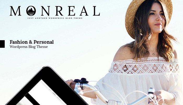 Monreal - Fashion WordPress Theme