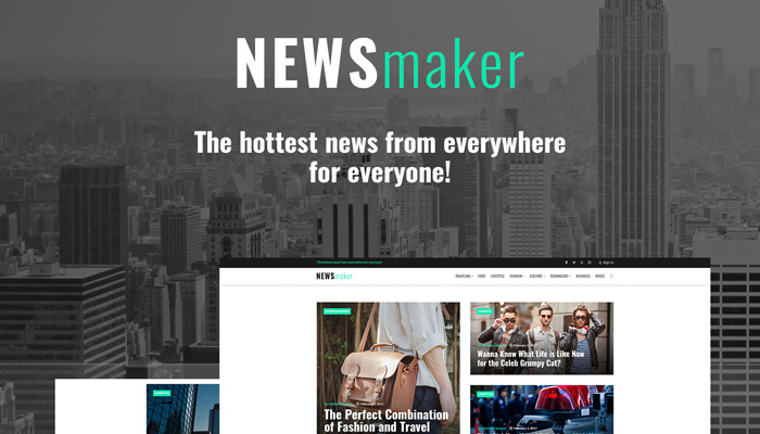 NEWSmaker WordPress Theme