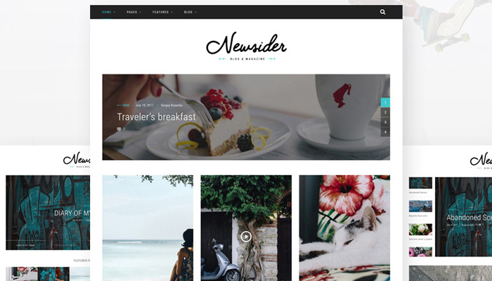 Newsider - Clean Magazine WordPress Theme