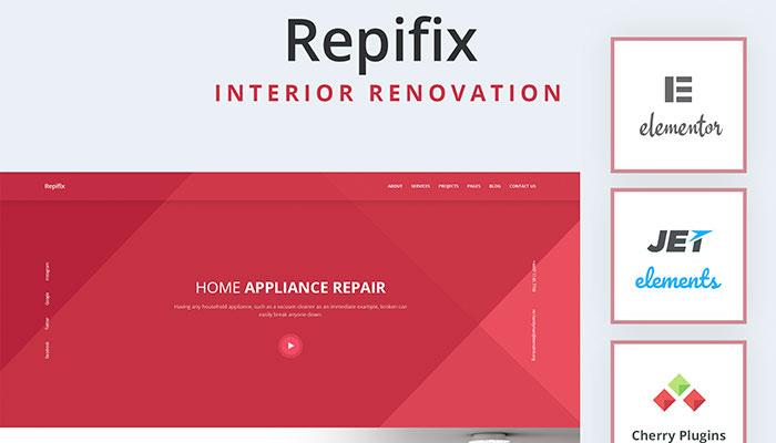 Repifix - Interior Renovation Template