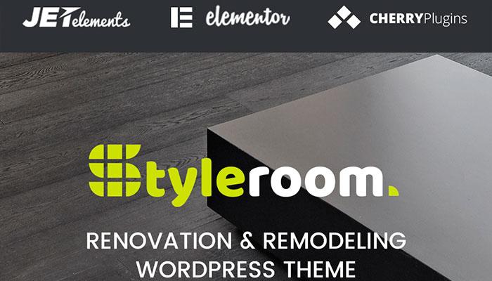 StyleRoom - Renovation & Remodeling WordPress Theme