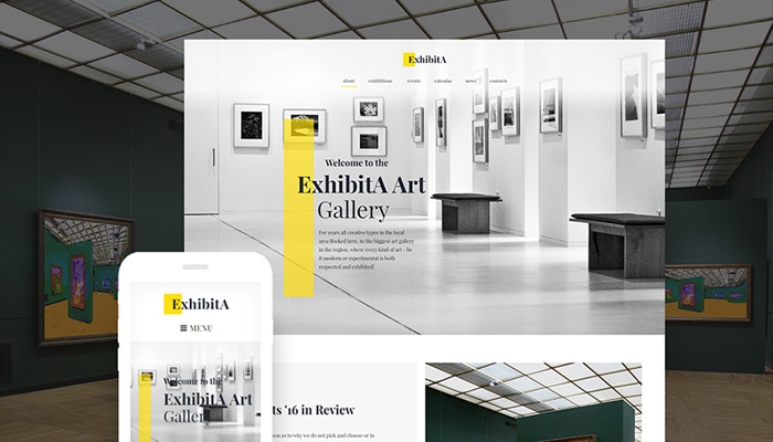 Art Museum WordPress Theme