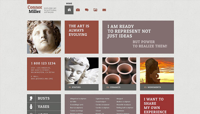 Art WordPress Theme