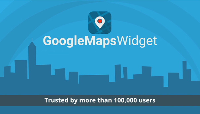 What is Google Maps Widget