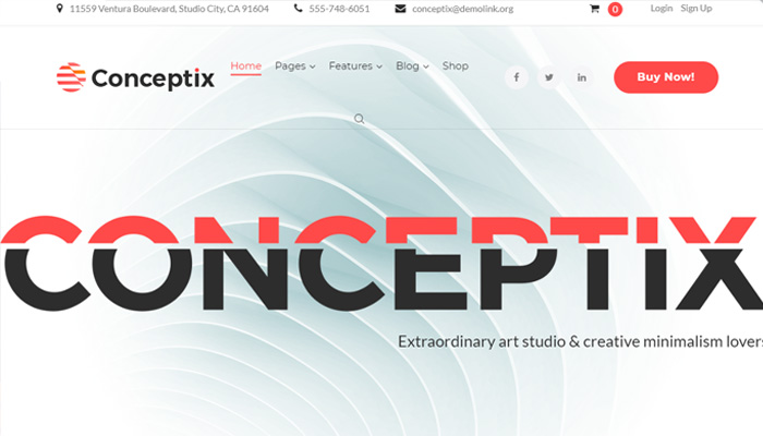 Art Studio WordPress Theme