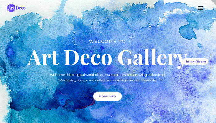 Creative Gallery Responsive WordPress Theme