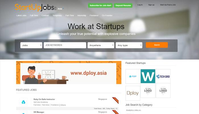 StartUpJobs Asia