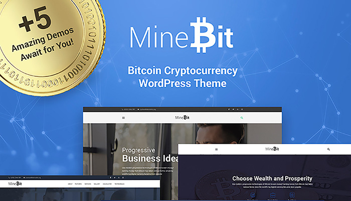 Cryptocurrency WordPress Website