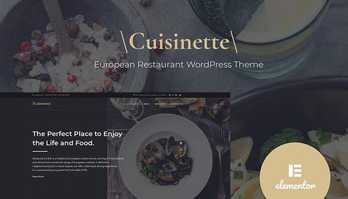 Cuisinette Restaurant Theme