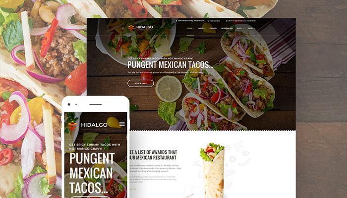 Hidalgo Restaurant Theme