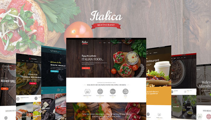 Italica Restaurant Theme
