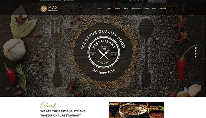 Max Restaurant Theme