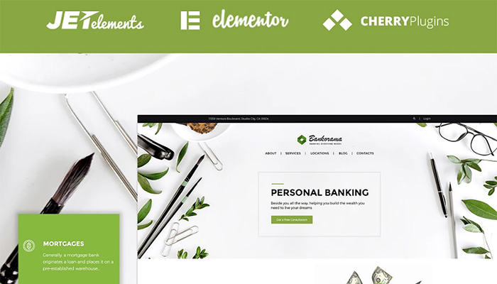 Personal Banking WordPress Site