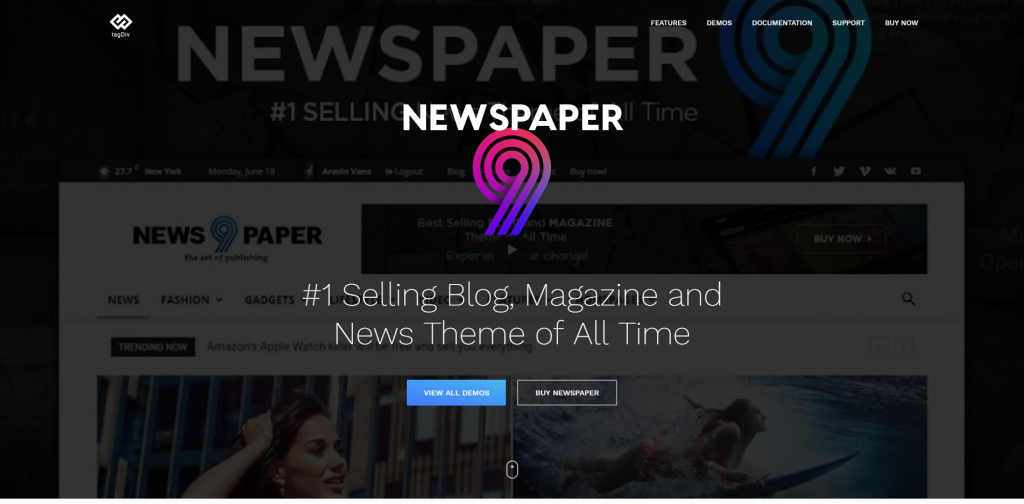 Top 5 WordPress Themes for 2019
