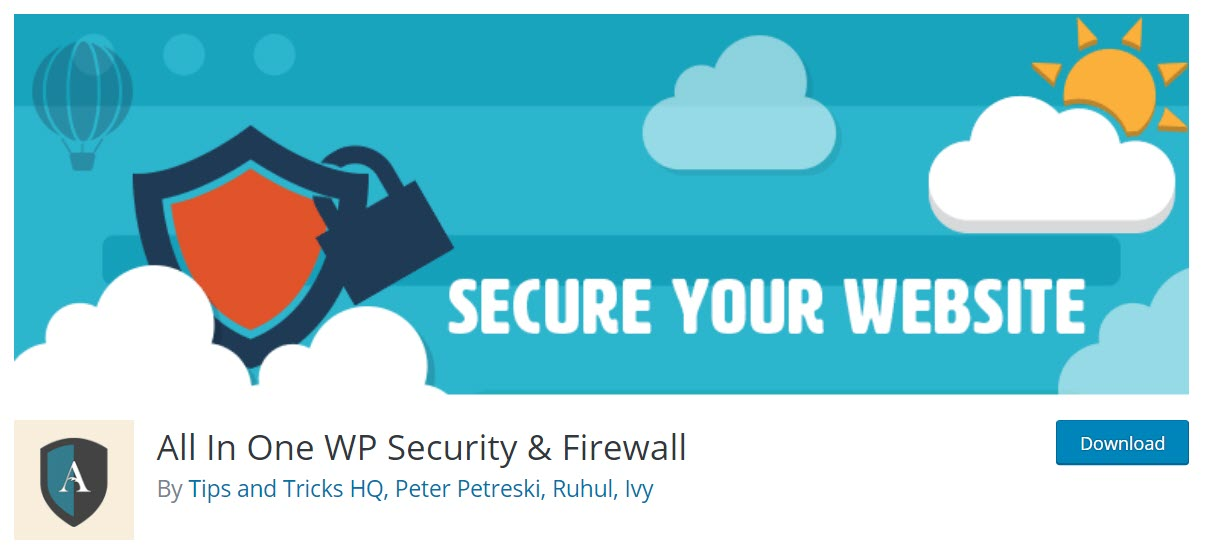 WordPress Page Speed - All in One WP Security and Firewall
