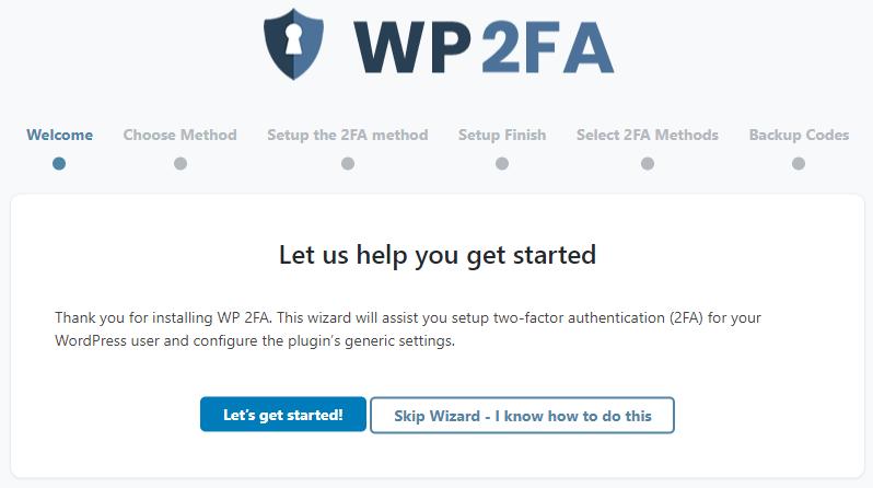 WP 2FA WordPress Plugin